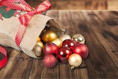 Bolso de Papá Noel Fotos de archivo