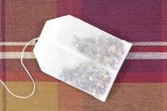 Bolso de té herbario Imagen de archivo
