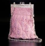 Bolso de tarde rosado Imagenes de archivo