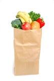 Bolso de tienda de comestibles Imágenes de archivo libres de regalías