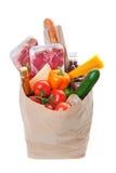 Bolso de tienda de comestibles Foto de archivo libre de regalías