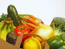 Bolso de tienda de comestibles Fotos de archivo libres de regalías