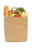 Bolso de tiendas de comestibles Imagenes de archivo