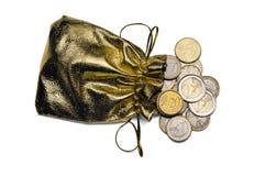 Bolso del dinero imágenes de archivo libres de regalías