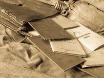 Bolso del ejército Fotos de archivo