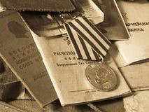 Bolso del ejército Foto de archivo libre de regalías