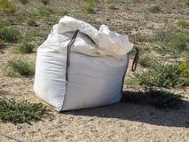 Bolso del fertilizante fotografía de archivo libre de regalías