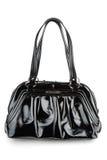 Bolso del negro de la mujer elegante Foto de archivo libre de regalías