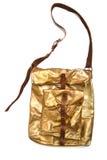 Bolso del oro foto de archivo libre de regalías