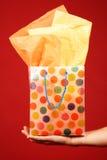 Bolso del regalo Foto de archivo libre de regalías