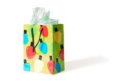 Bolso del regalo de día de fiesta Foto de archivo libre de regalías