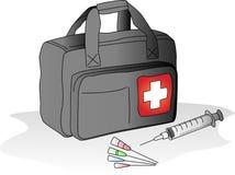 Bolso médico stock de ilustración