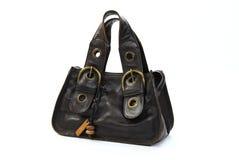 Bolso marrón de la vendimia Imagen de archivo libre de regalías