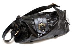 Bolso negro femenino Imagen de archivo libre de regalías