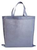 Bolso no tejido gris de la muestra Fotografía de archivo libre de regalías