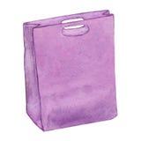 Bolso púrpura Fotografía de archivo libre de regalías