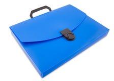 Bolso plástico de la carpeta, camino de recortes Fotografía de archivo