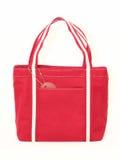 Bolso rojo Fotografía de archivo libre de regalías