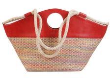 Bolso rojo Imagen de archivo libre de regalías