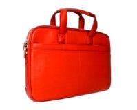 Bolso rojo con estilo imagen de archivo