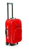 Bolso rojo del recorrido Foto de archivo libre de regalías