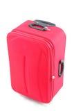 Bolso rojo del recorrido Fotografía de archivo libre de regalías
