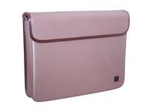 Bolso rosado del cuaderno Fotografía de archivo libre de regalías