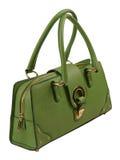 Bolso verde Imágenes de archivo libres de regalías