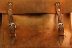 Bolso viejo - detalle Imágenes de archivo libres de regalías