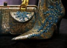 Bolso y zapatos 4 Fotografía de archivo