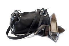 Bolso y zapatos imagenes de archivo