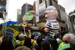 Bolsonaro political rally Oct. 2018 stock photography