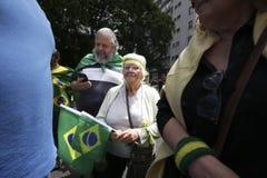 Bolsonaro polityczny wiec Oct 2018 obrazy royalty free