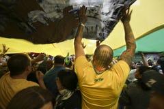 Bolsonaro polityczny wiec Oct 2018 fotografia stock