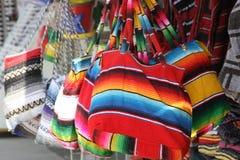 Bolsos coloridos Imagen de archivo libre de regalías