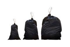 Bolsos de basura Foto de archivo libre de regalías