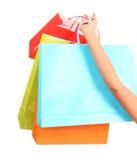 Bolsos de compras Imagenes de archivo