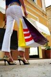 bolsos de compras Foto de archivo