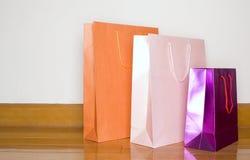 Bolsos de compras Imagen de archivo libre de regalías