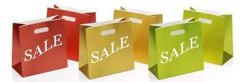 Bolsos de compras Fotos de archivo