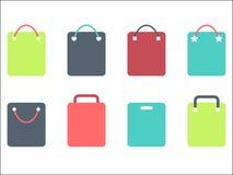 Bolsos de compras ilustración del vector
