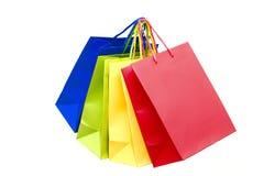 Bolsos de compras Imágenes de archivo libres de regalías