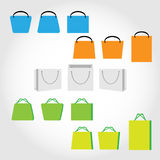 Bolsos de compras Fotografía de archivo libre de regalías