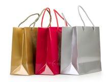 Bolsos de compras coloreados clasificados Imagen de archivo