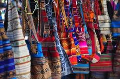 Bolsos de compras tradicionales Fotos de archivo libres de regalías