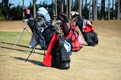 Bolsos de golf fotos de archivo libres de regalías