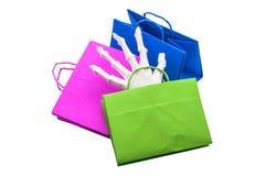 bolsos de la Truco-o-invitación Fotos de archivo libres de regalías