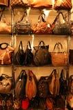 Bolsos de moda Imágenes de archivo libres de regalías