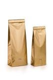 Bolsos del oro Imagen de archivo