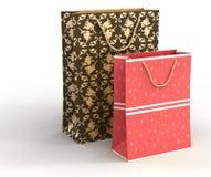 Bolsos del regalo Fotografía de archivo libre de regalías